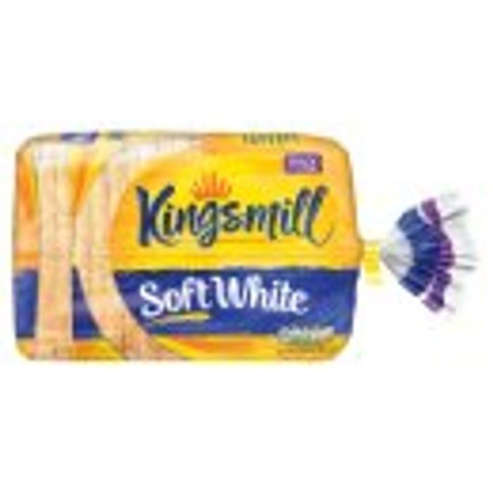 Kingsmill White or Wholemeal Bread 800g