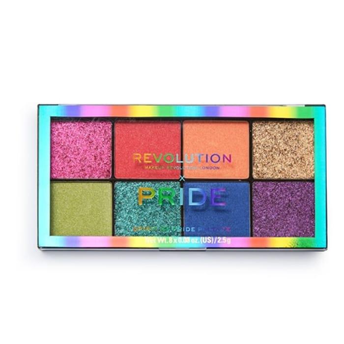 Revolution X Pride Eyeshadow Palette