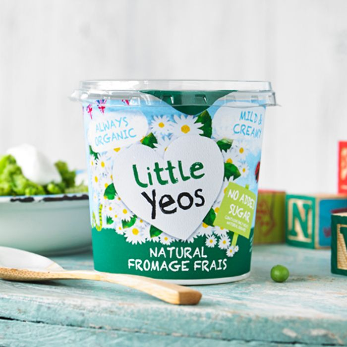 Free Little Yeos Natural Fromage Frais Big Pot - Sign up to Test