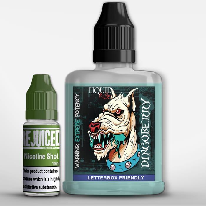 Liquid Rage 60ml Dingoberry Eliquid