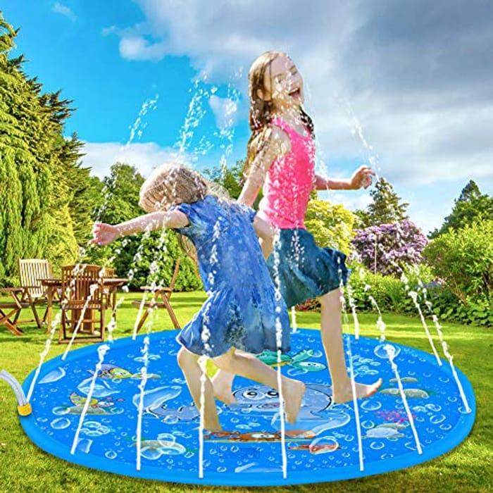 Sprinkle Splash Water Play Mat Pad - Half Price