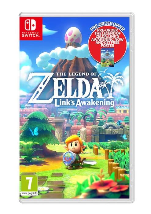 Cheap Nintendo Switch the Legend of Zelda: Link's Awakening Only £39.85