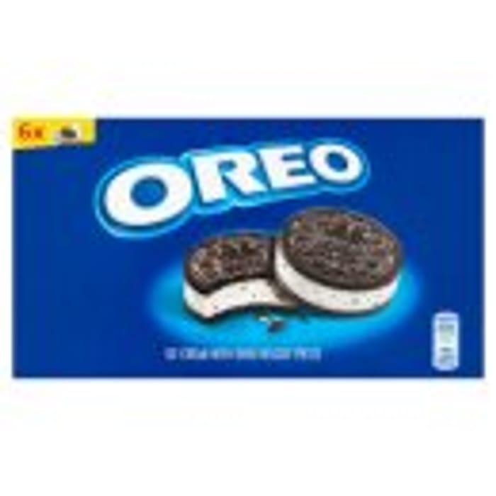 Oreo 6 Ice Cream Sandwiches Half Price