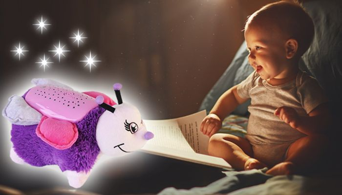 Cuddly Kids Night Light Cushion Toy - 2 Designs