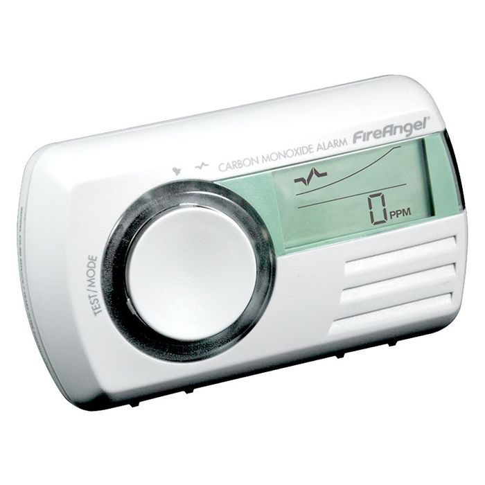 Carbon Monoxide Alarm with Thermometer