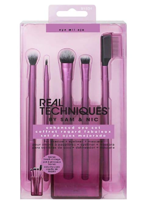 30% off - Real Techniques Enhanced Eye Shadow Makeup Brush Set Starter Kit