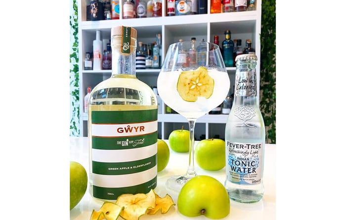 Win One 70cl Bottle of Green Apple & Elderflower Gin