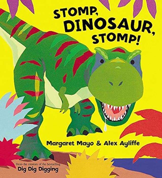 Stomp, Dinosaur, Stomp! (On the Go) Paperback