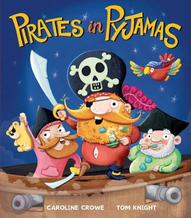 Pirates in Pyjamas - Paperback Book