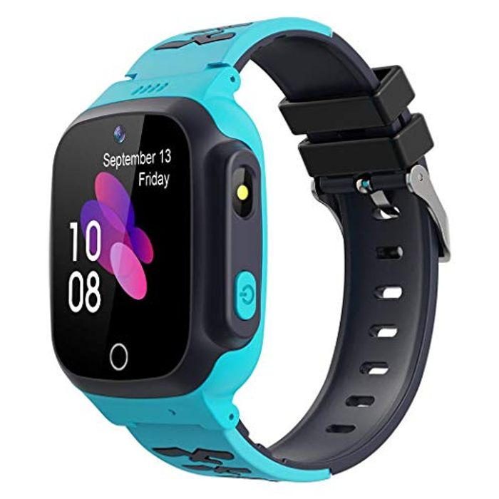 Kids Waterproof Smart Watch with Two Way Call, Anti Loss and Location Tracker