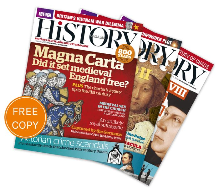 Free Copy of BBC History Magazine