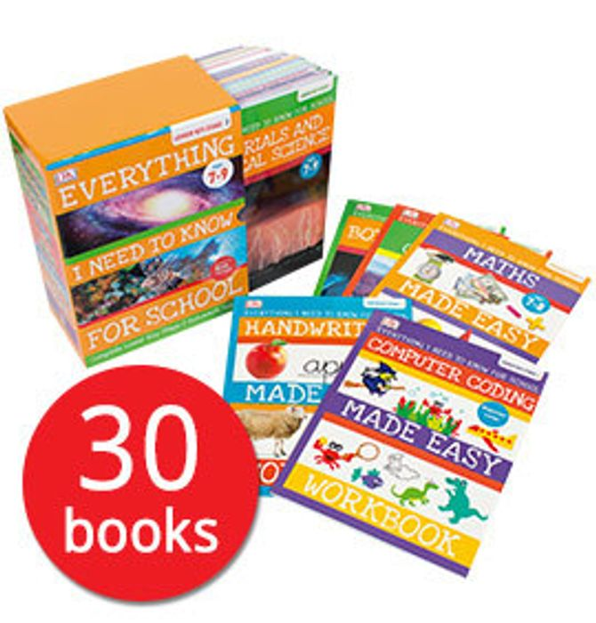 Everything I Need to Know for School: Lower Key Stage 2 Collection - 30 Books