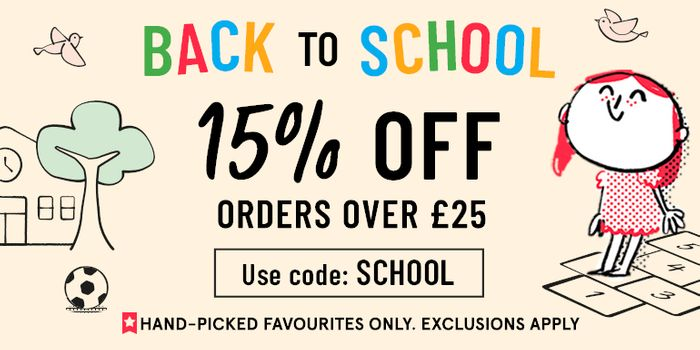EXCLUSIVE £5 off Orders over £30 at Book People
