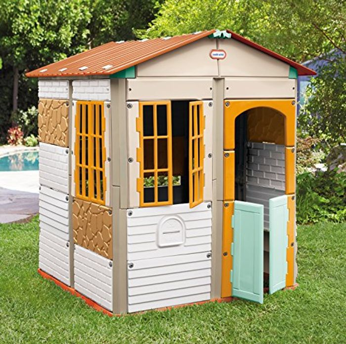 Cheap Little Tikes Build-a-House on Sale From £169.99 to £89.99
