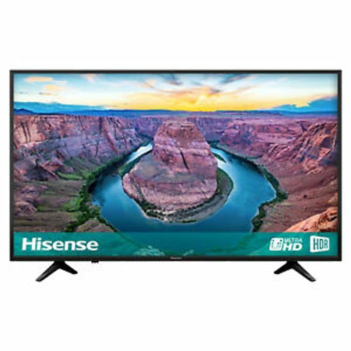 £60 off This 65 4k Hisense Tv on Ebay
