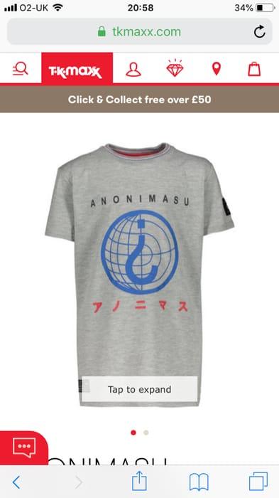 Grey Marl Logo Printed T Shirt 9 Years