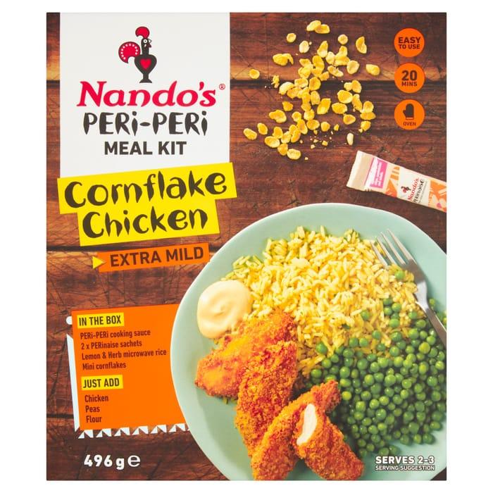 Nando's Cornflake Chicken Meal Kit 496G