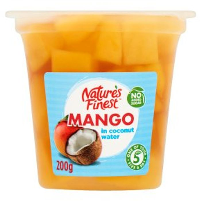 Nature's Finest Mango in Coconut Water
