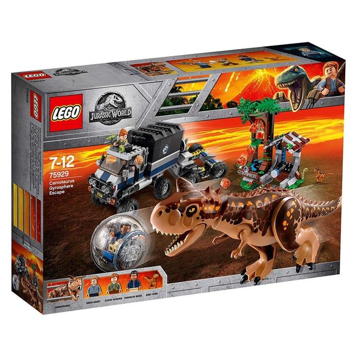 SAVE £18 - LEGO 75929 Jurassic World Carnotaurus Gyrosphere
