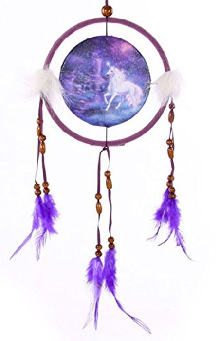 Fantasy Unicorn Print Dreamcatcher Only £1.99