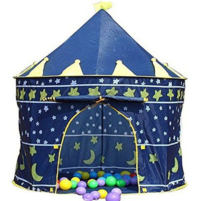 Blue Wizard Castle Play Tent for Kids - FREE DELIVERY