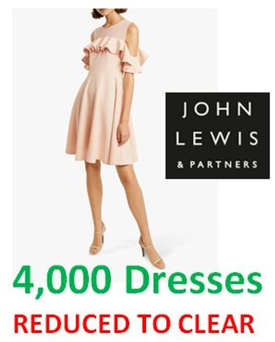 4,000 DRESSES Reduced to Clear! up to 80% off at JOHN LEWIS