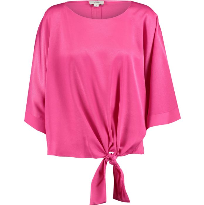 RIVER ISLAND Pink Side Knit Top