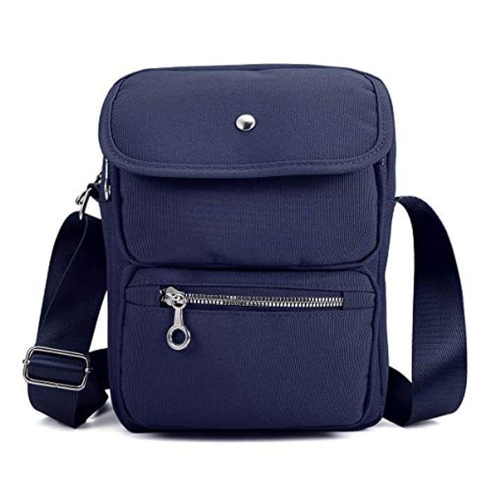 Nylon Shoulder Bag Messenger Bag for Men Women,