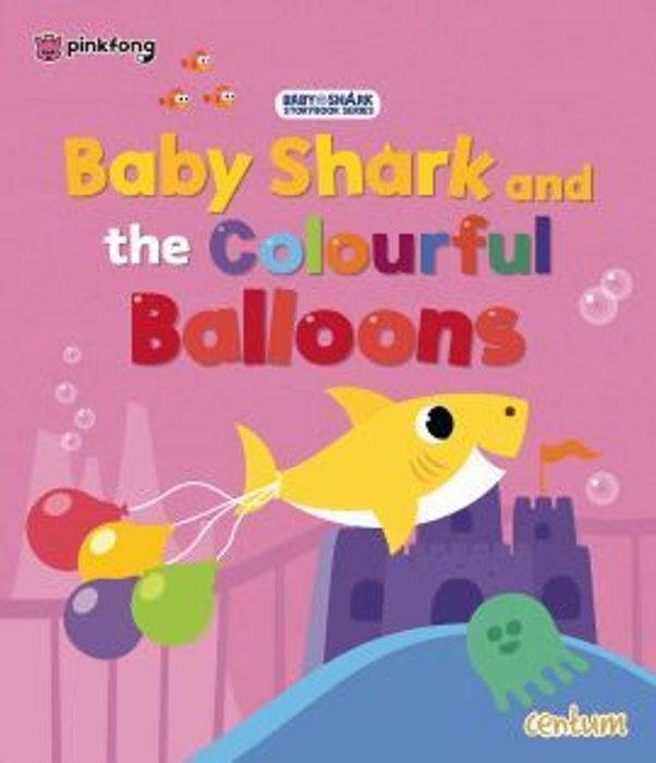 Baby Shark Colourful Balloons (Paperback)