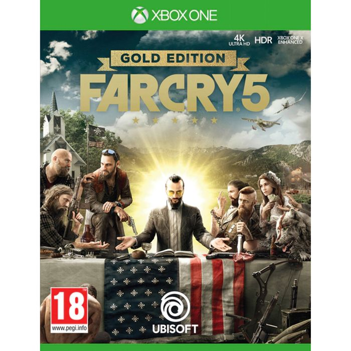XBOX One Far Cry 5 Gold Edition £19.99 Delivered at 365games