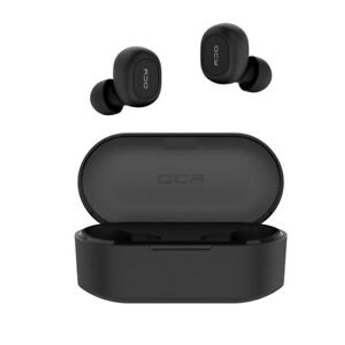 Wireless QCY T2C Bluetooth Earphones + Charging Case £18.40