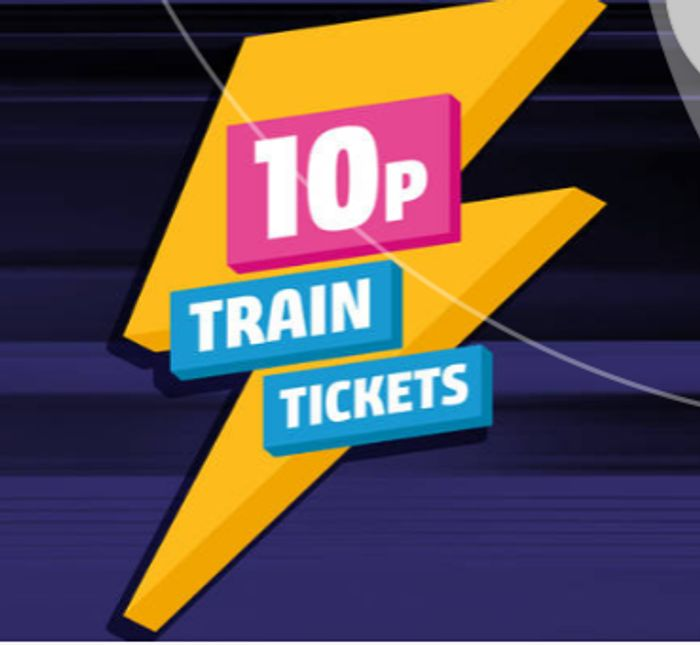 Northern Railway FLASH SALE - Tickets for 10p!