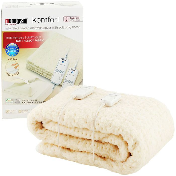 Fleece Electric Blankets Single £9.99, Double £16.99 & King £15.99 Delivered