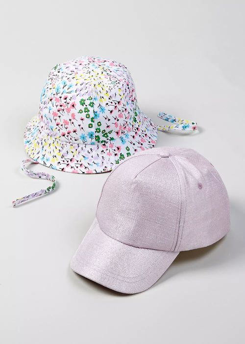 Kids 2 Pack Cap & Sun Hat (12-23months)
