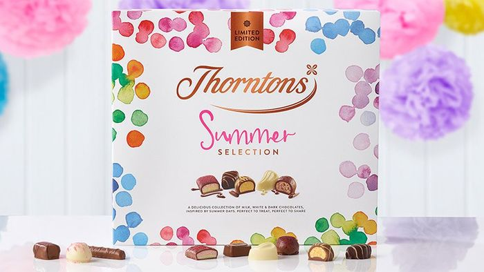 Thorntons Summer Sale prices starting from 50p