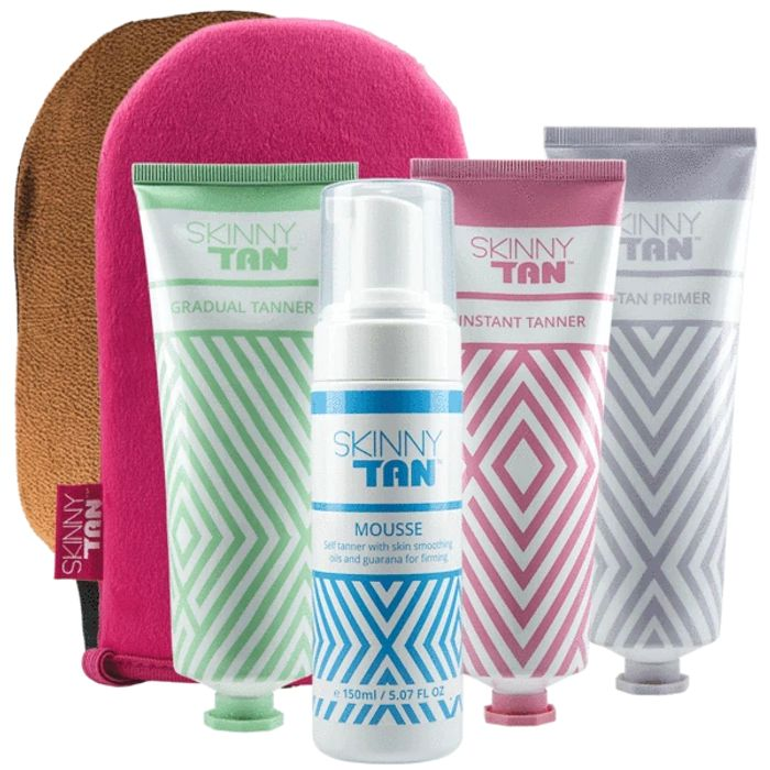 Skinny Tan Bundle Down From £78.94 to £24.99