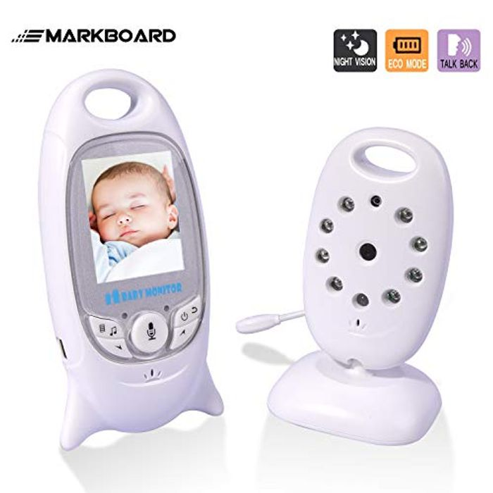Baby Monitor with Camera Detection Monitor,Two-Way Audio & Night vision,SAVE 50%