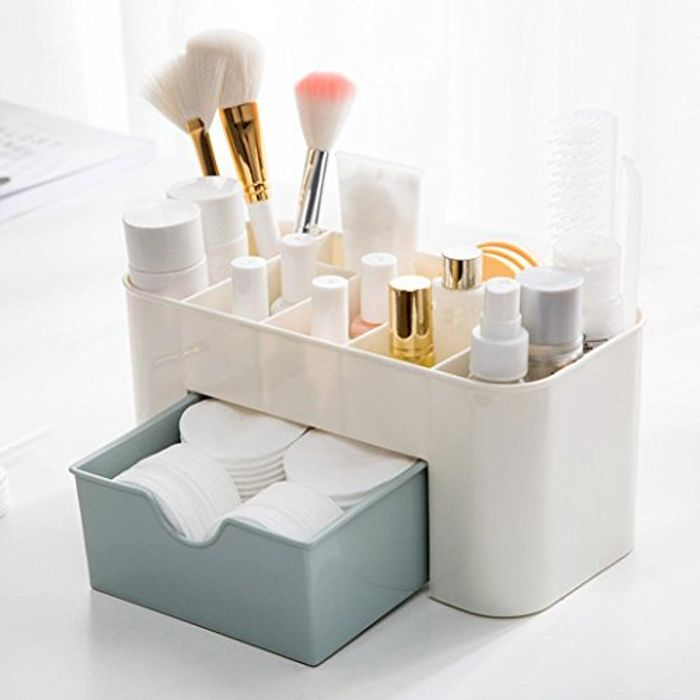 Cosmetic Makeup Organizer Storage Box - Free Delivery