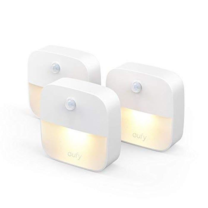 Eufy Lumi Stick-on Night Light, Warm White LED