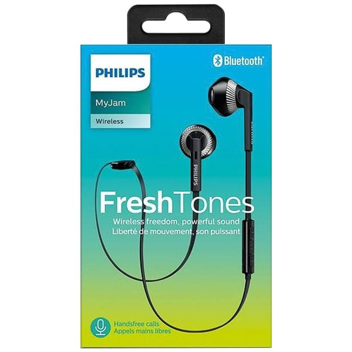 Philips FreshTones Wireless Bluetooth Earphones - On Sale From £10 to £5