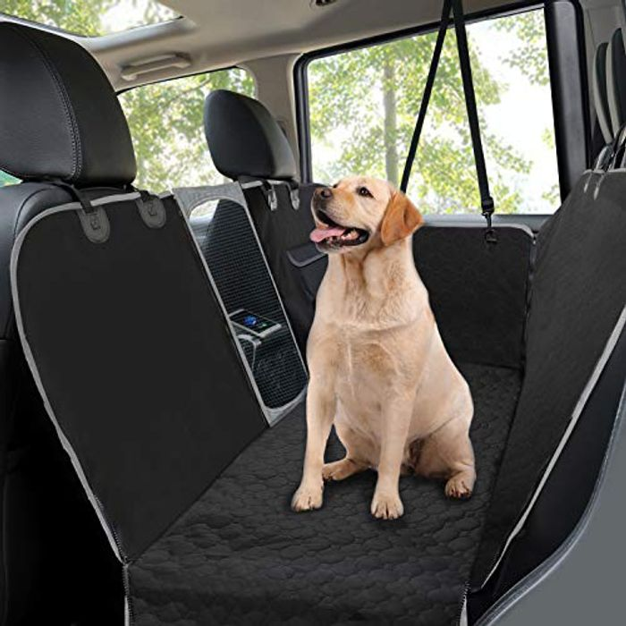 Cheap MANCRO Dog Car Seat Covers at Amazon, reduced by £21.89!
