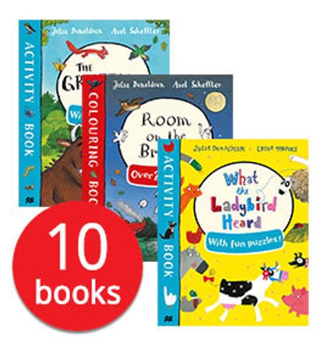 Julia Donaldson Activity Collection - 10 Books