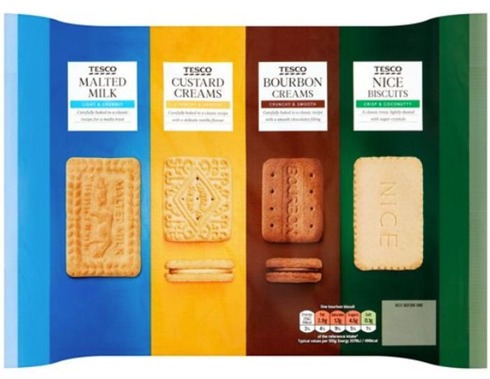 Tesco Variety Pack Biscuits *700G *Biscuits on a Budget?
