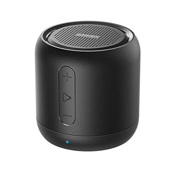 Anker SoundCore Mini, Bluetooth Speaker + Free IPhone 8 plus Case £16.49