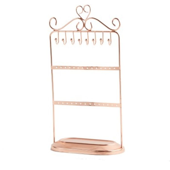 Jewellery Stand Rose Gold 30cm 4 80 At Jtf Latestdeals Co Uk