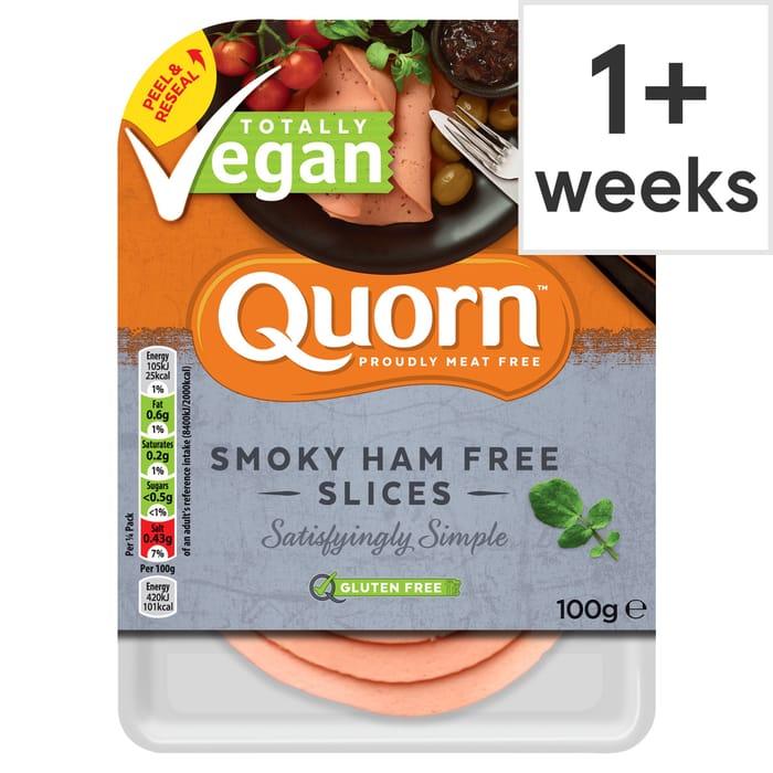 Quorn Vegan Smoky Ham Free Slice 100G