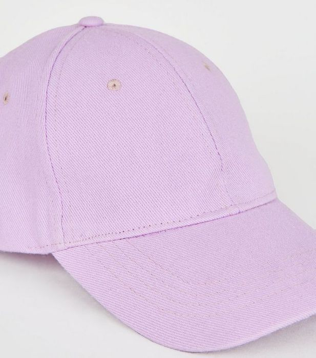 Lilac Canvas Cap Down From £6.99 to £2.5