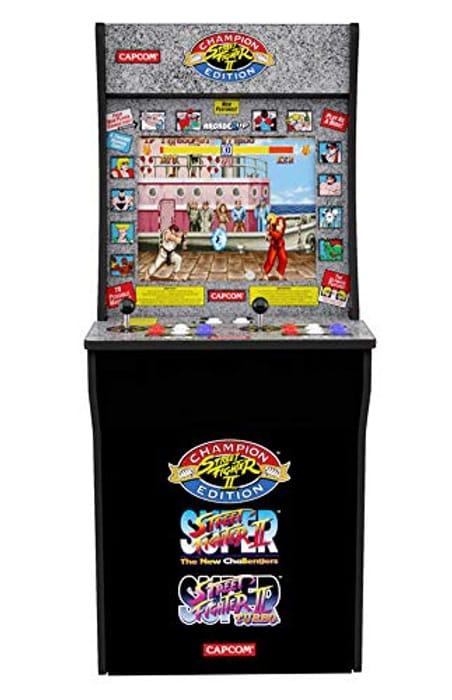 1 up Arcade Street Fighter Edition.