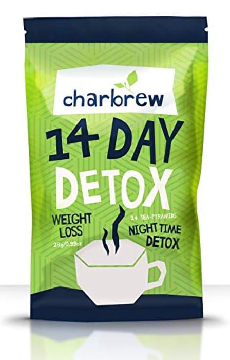 Charbrew Night Time Tea Detox
