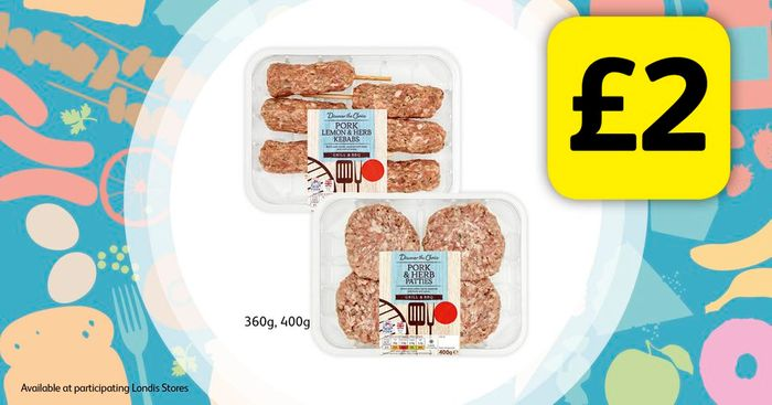 Selected BBQ Foods for £2
